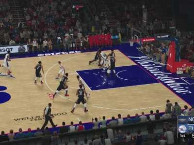 雄鹿vs湖人 《NBA 2K19》湖人VS雄鹿